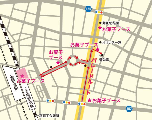 お菓子マップ